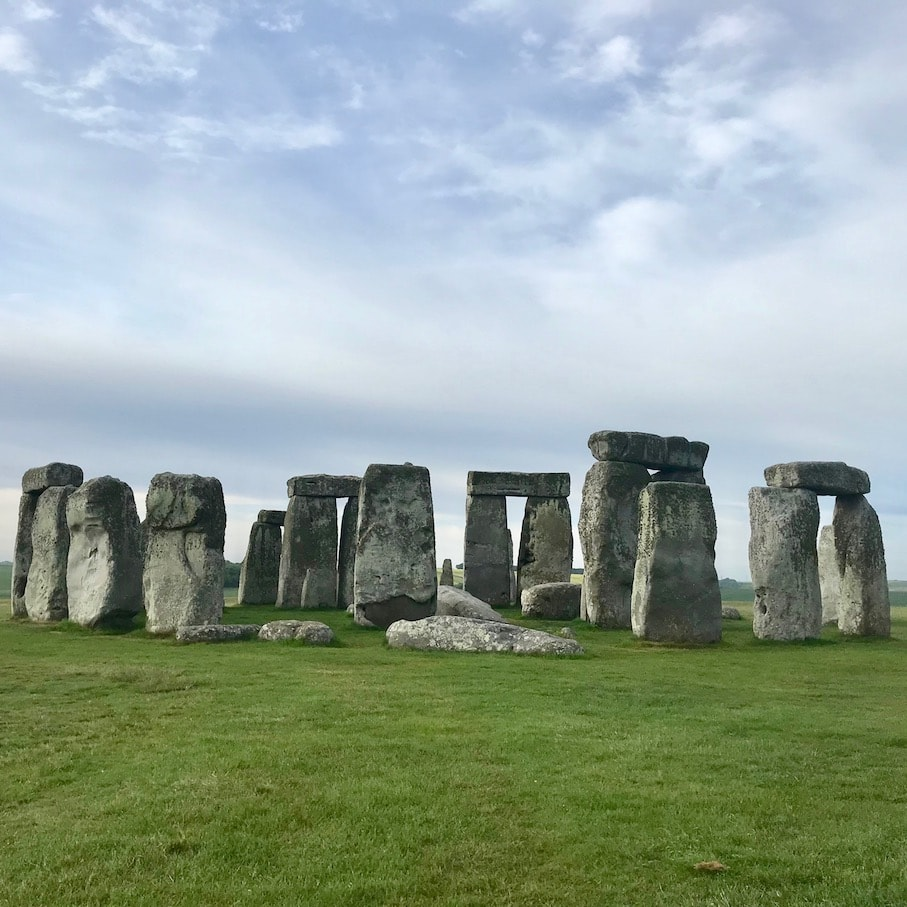 Classic Stonehenge view