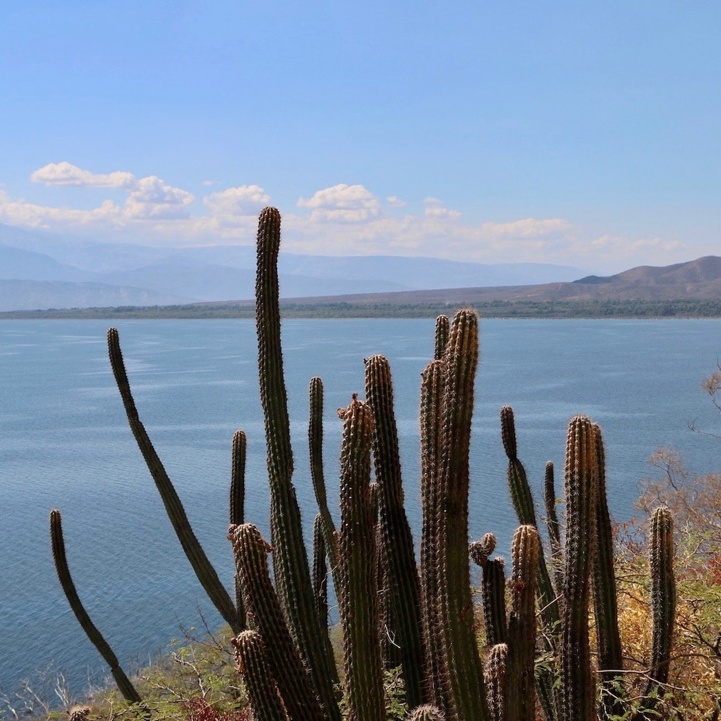 Last look of Lake Enriquillo