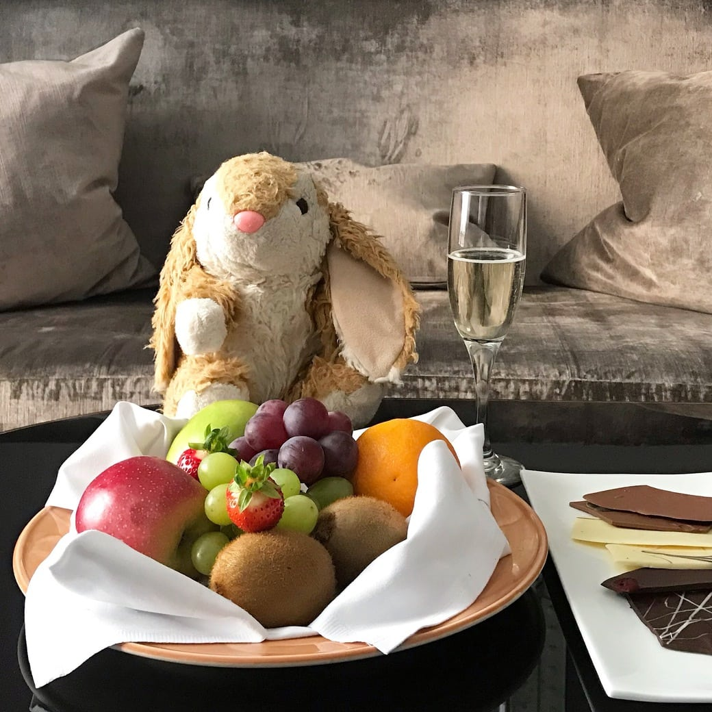 Bunny loved Hotel St. Petersbourg