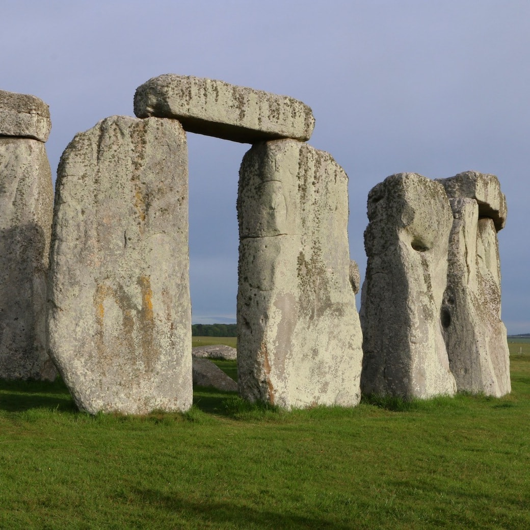 Stonehenge view early in the morning