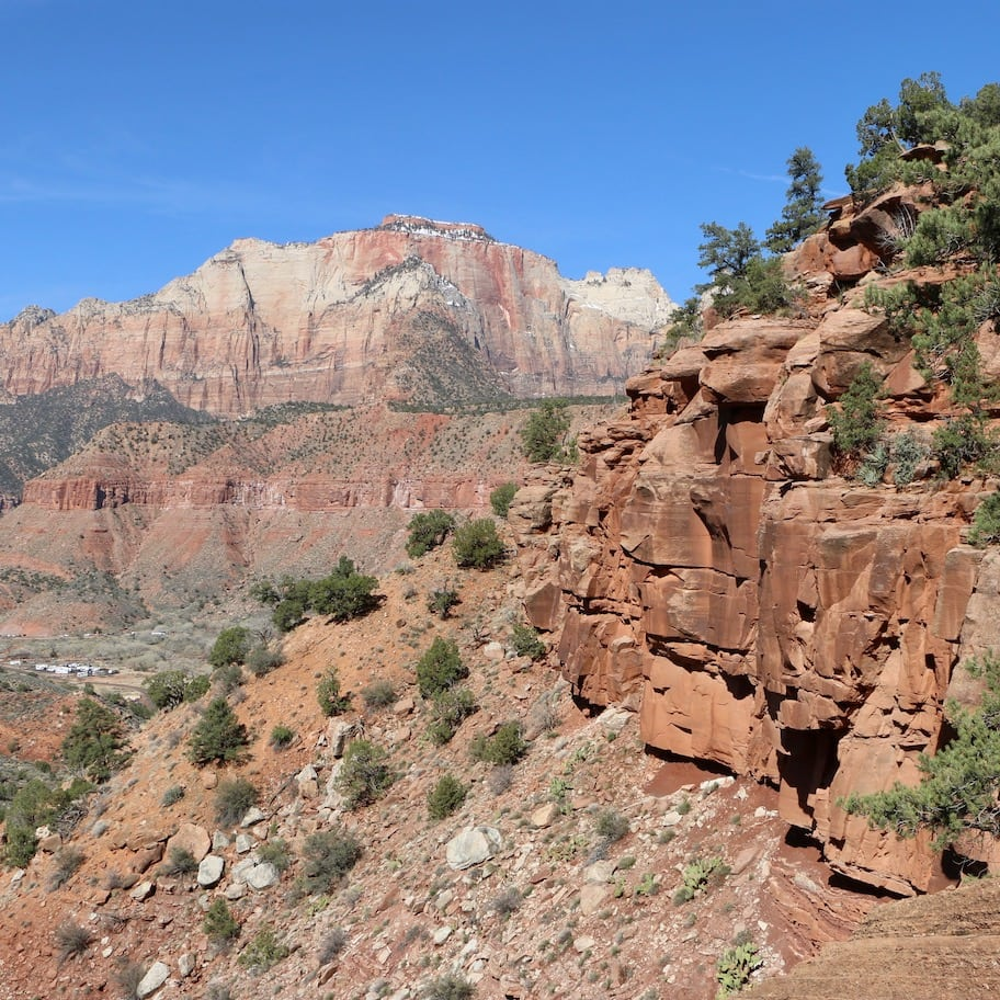 In the beginning of Watchman Trail