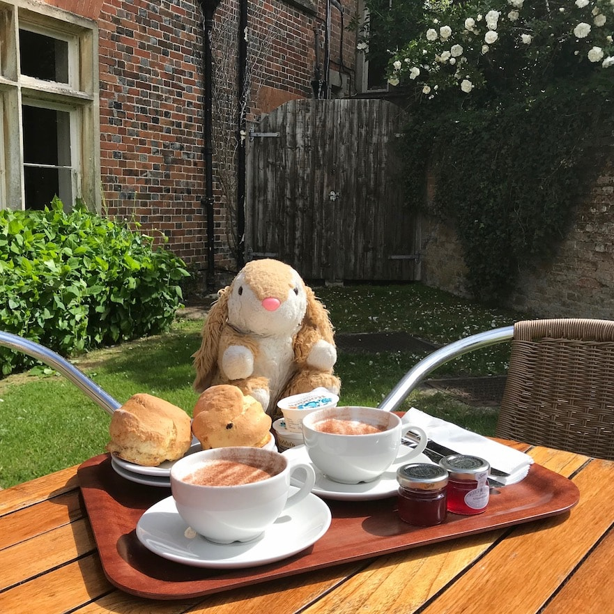 Afternoon tea at Downton Abbey