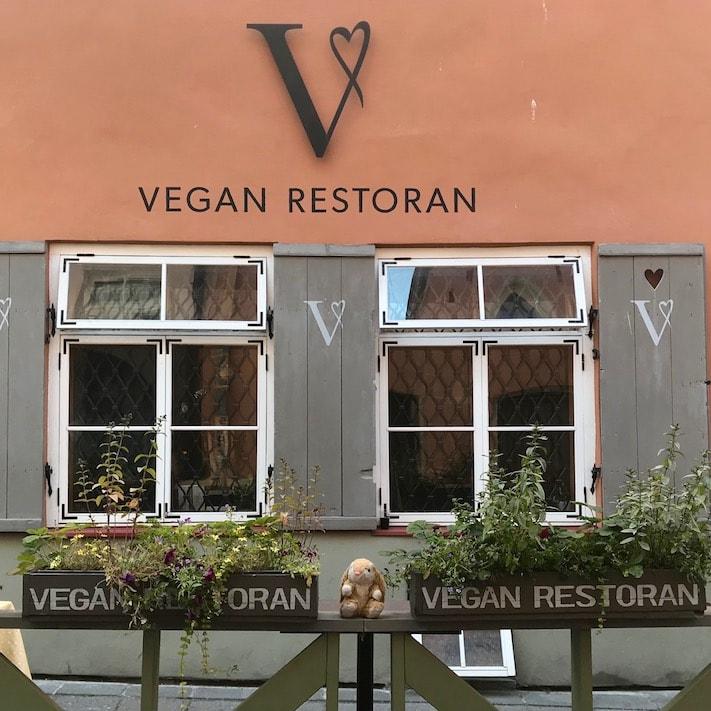 V Vegan restoran