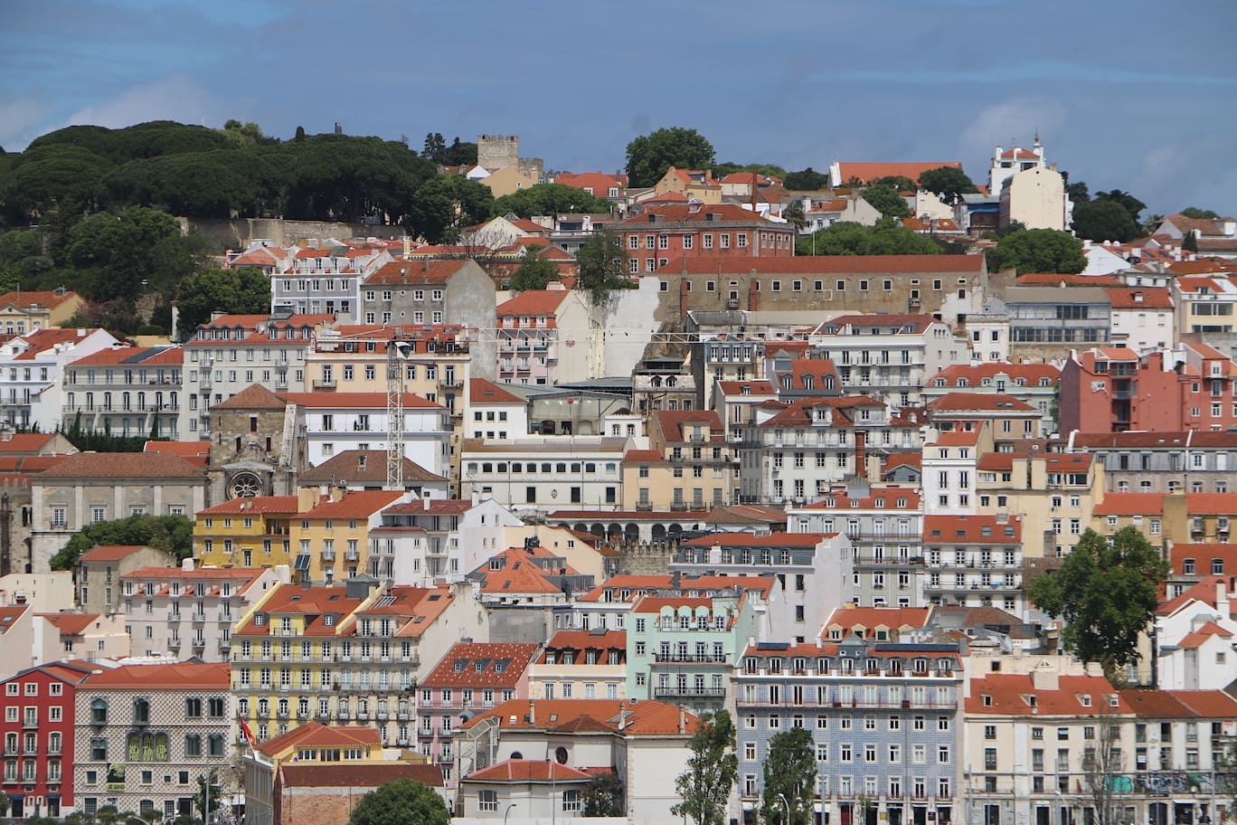 Lisbon from the sea
