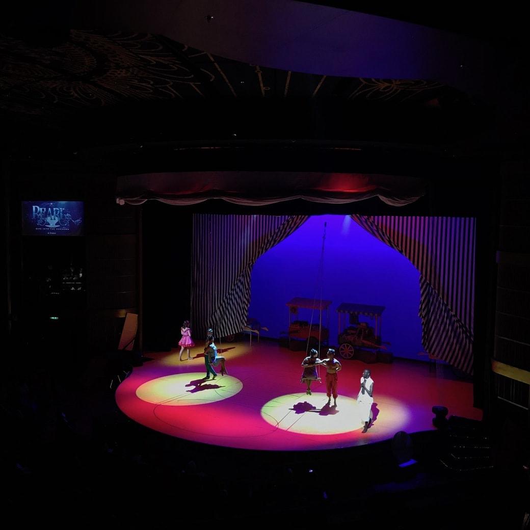 Pearl at Silhouette's theatre