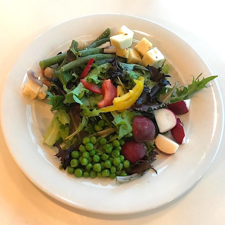 Fresh salad at buffet