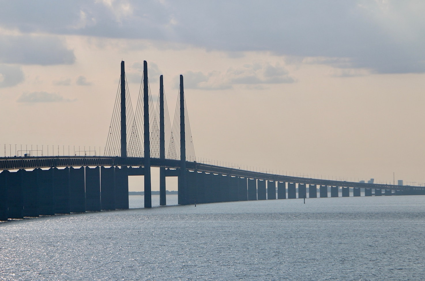 The gorgeous Oresund Bridge