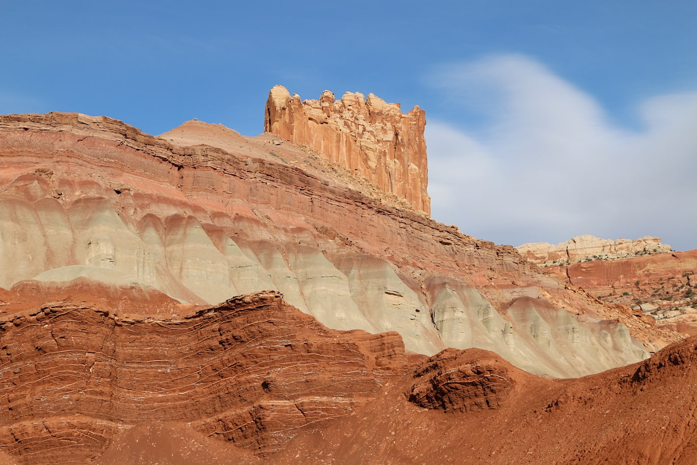 Late afternoon glow in Capitol Reef NP