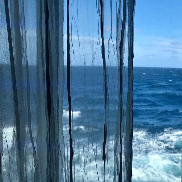 Sea was still reasonably calm