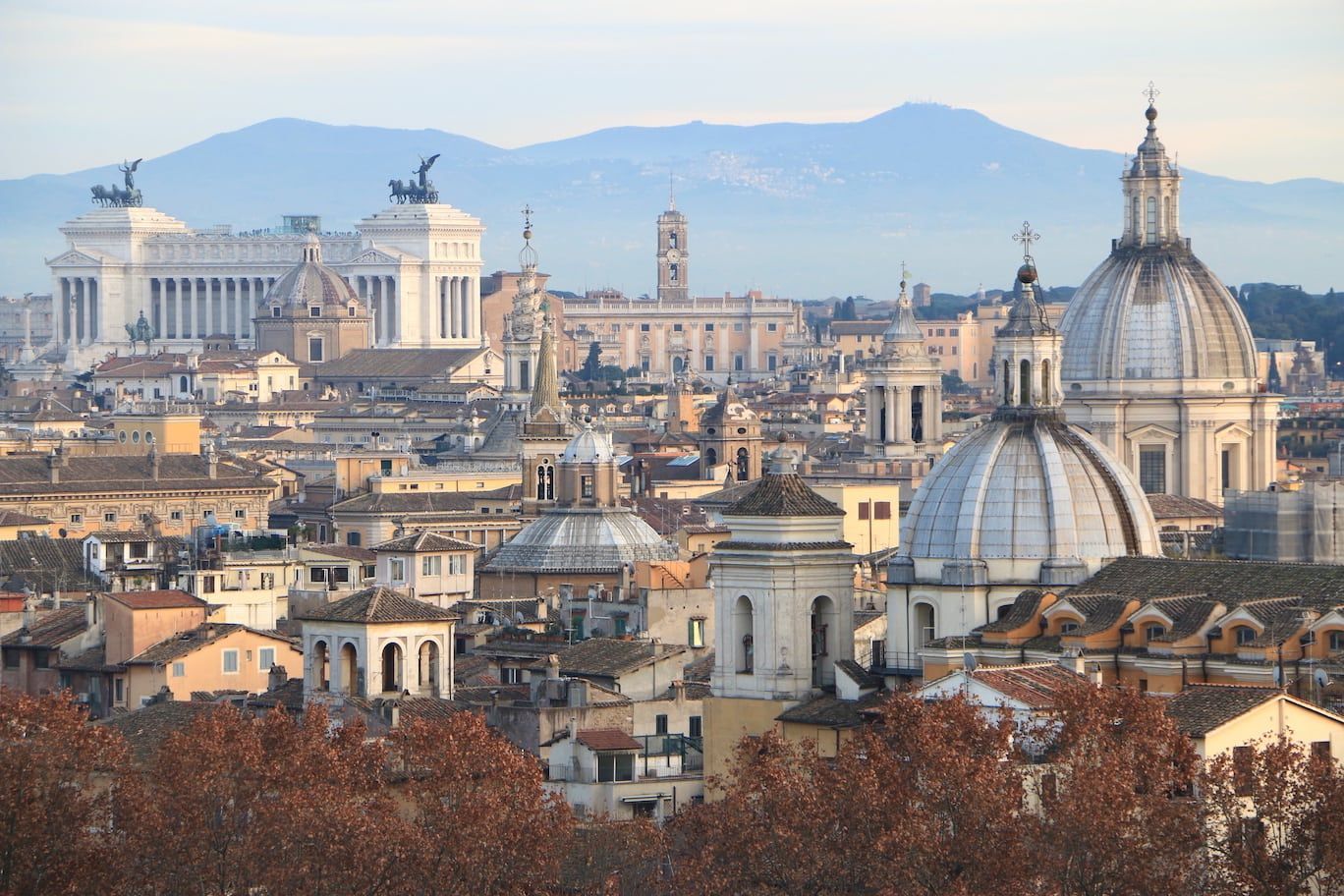 Rome at Christmas time