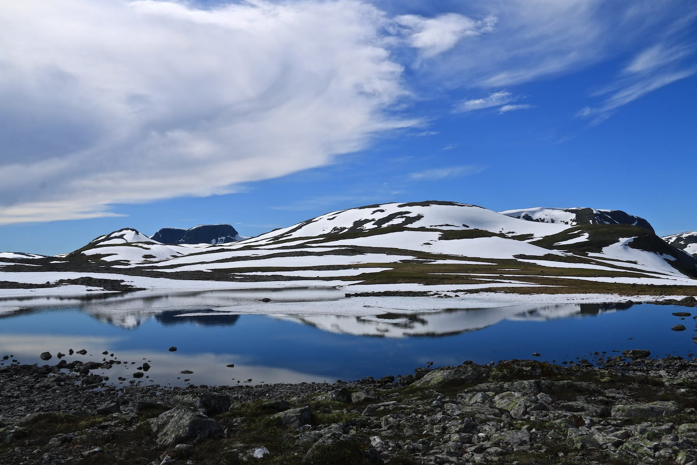 Gorgeous hiking in Norway