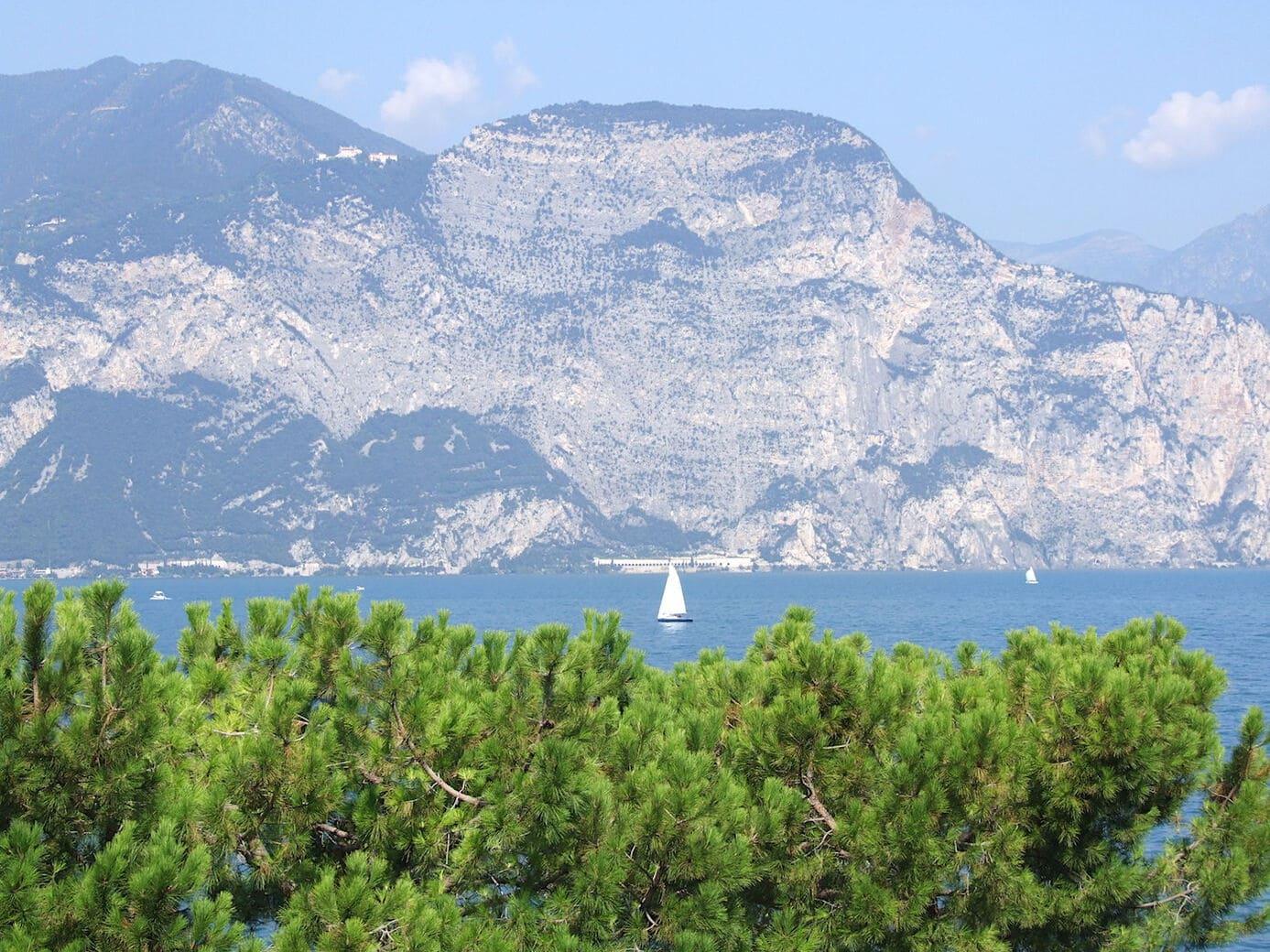 Superb scenery at Garda