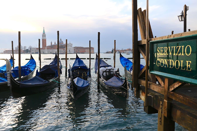Moody Venice in January