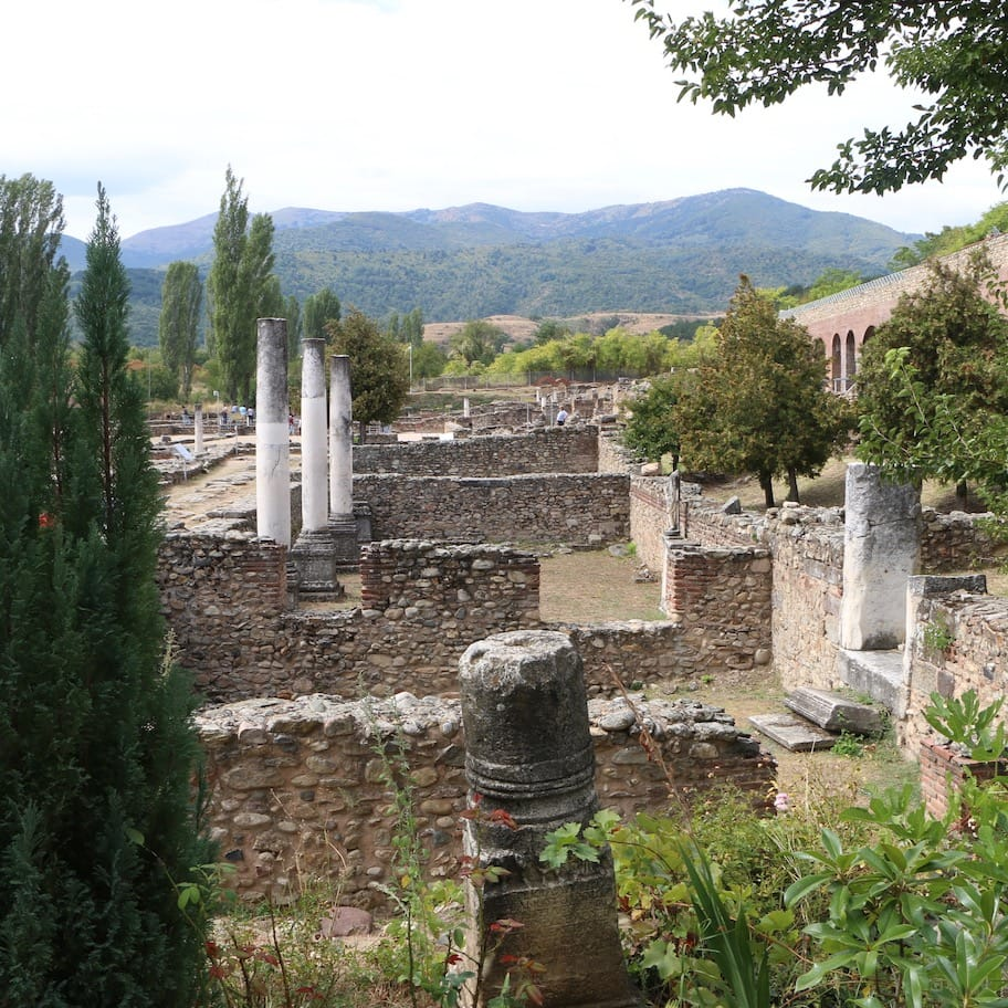 Ruins of an ancient city