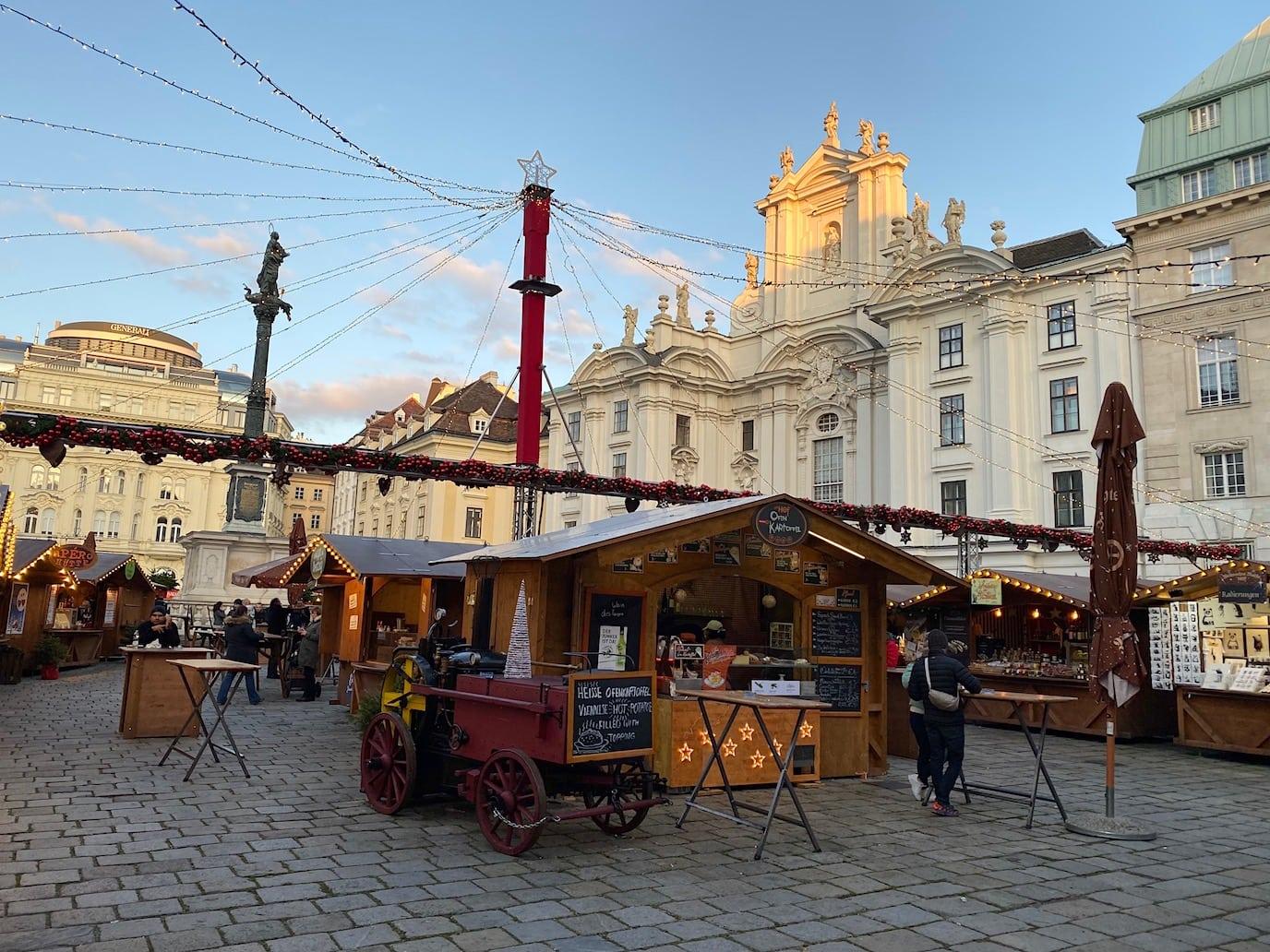 Christmas market at Am Hof