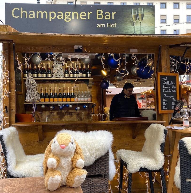 Champagne at Am Hof