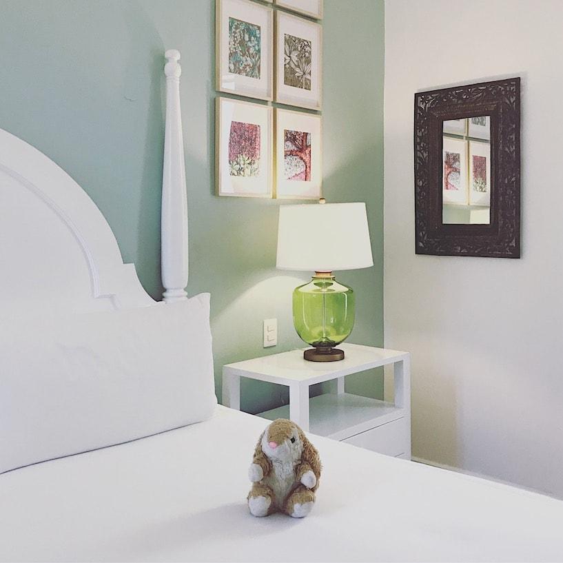 Bunny's elegant room