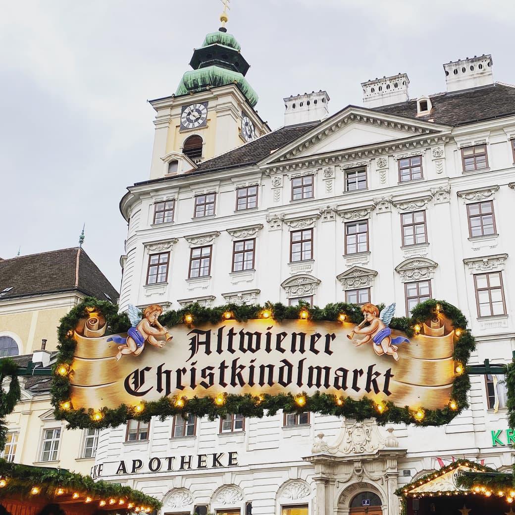 Old Viennese Christmas Market Freyung