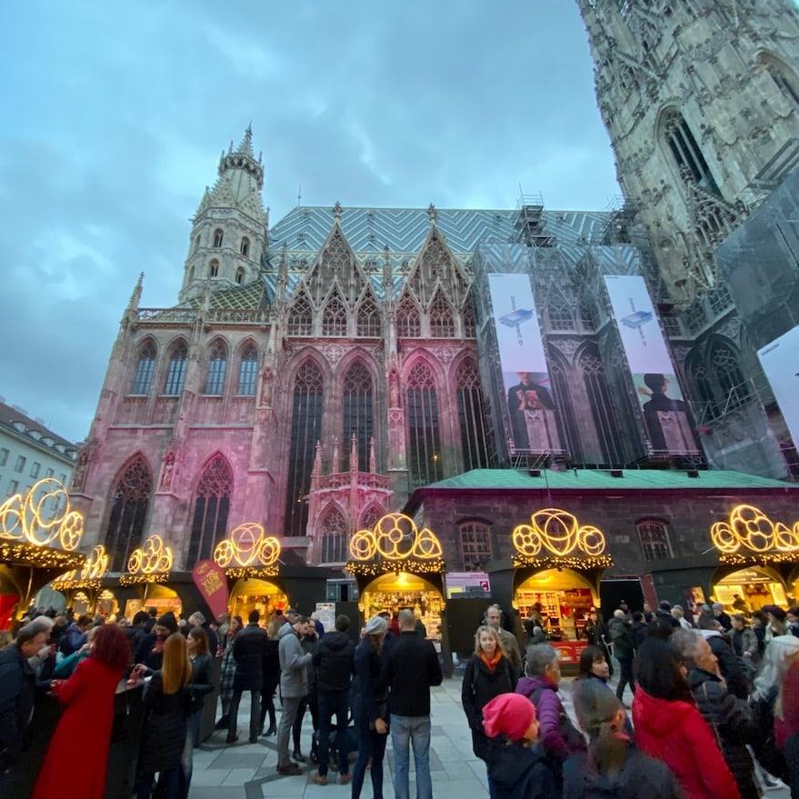 Christmas Market on Stephansplatz