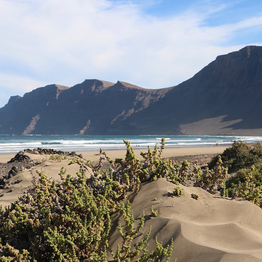 Beautiful Playa de Famara