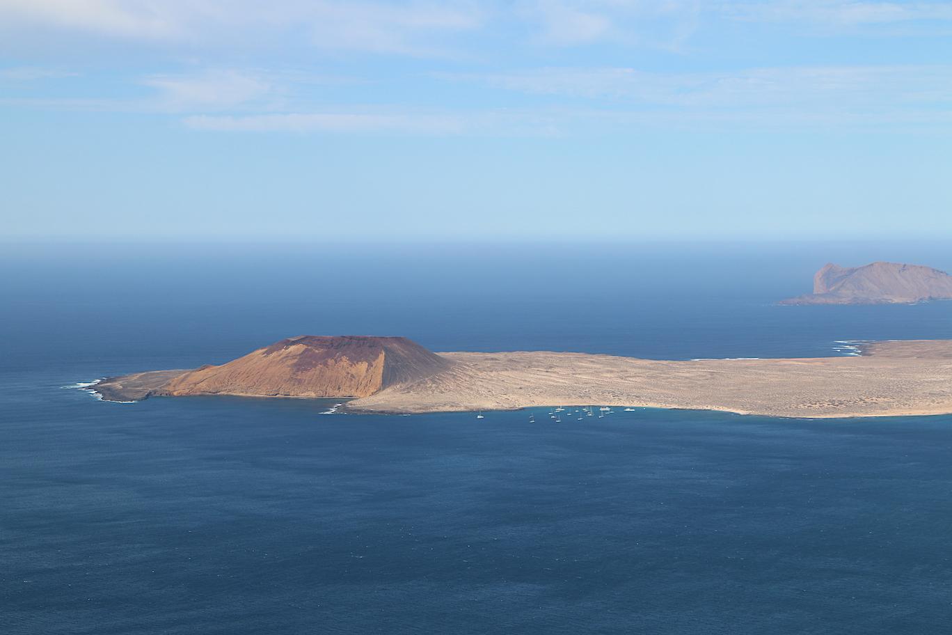 View of La Graciosa