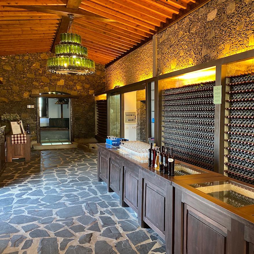 Beautiful winery in Lanzarote