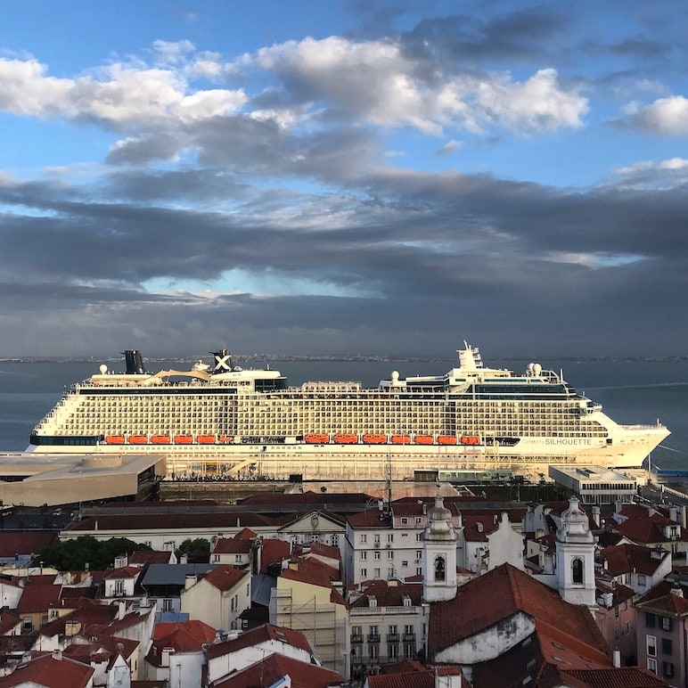 Cruise stop in Lisbon