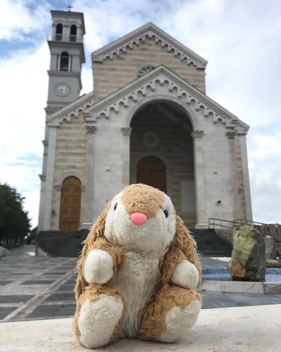 Bunny in Pristina