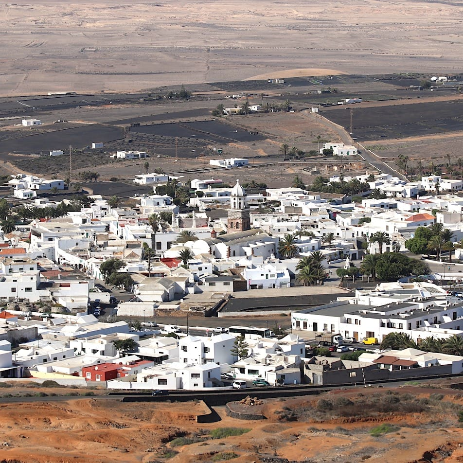 Old capital of Lanzarote