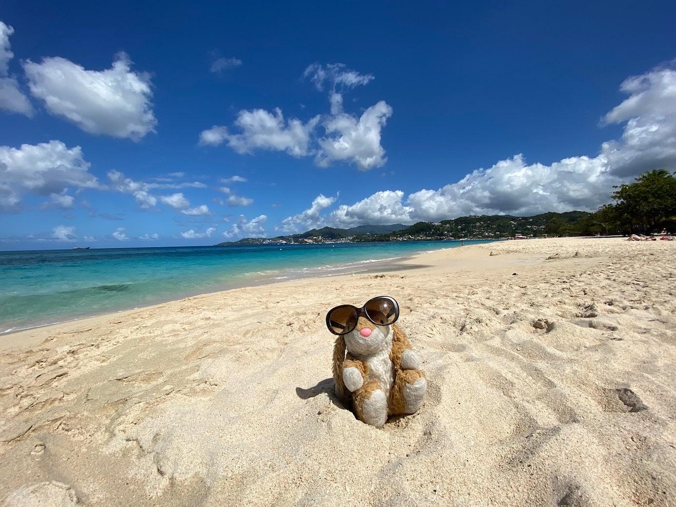 Grenada's most famous beach
