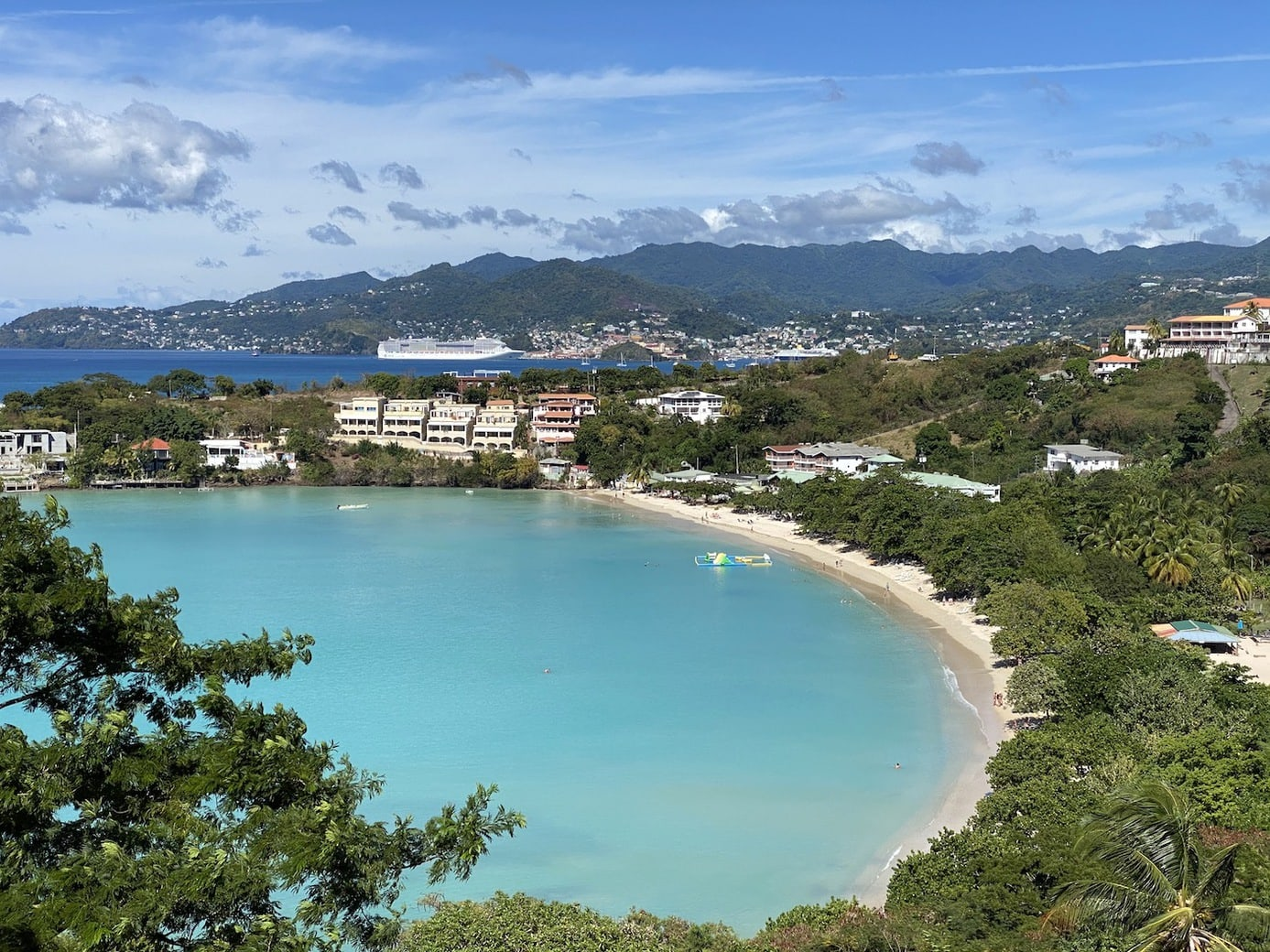 Turquoise waters in Grenada
