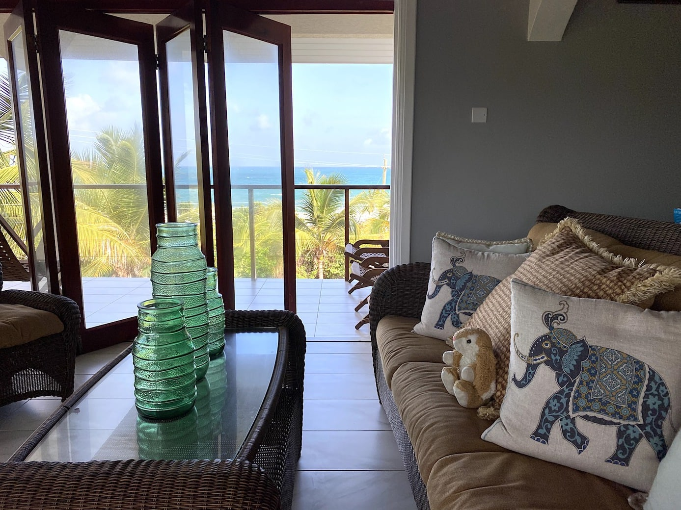 Lounge with a view