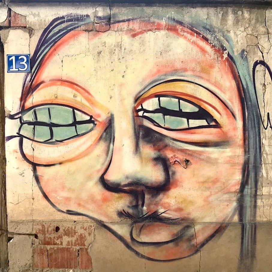 Street art in Pristina