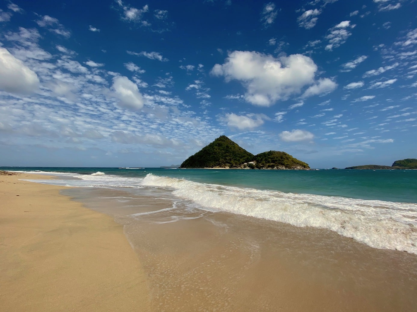 Wild and beautiful beach