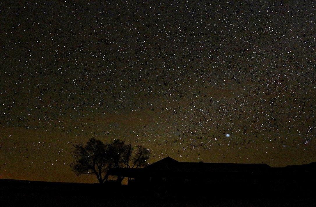 Amazing night sky in Utah