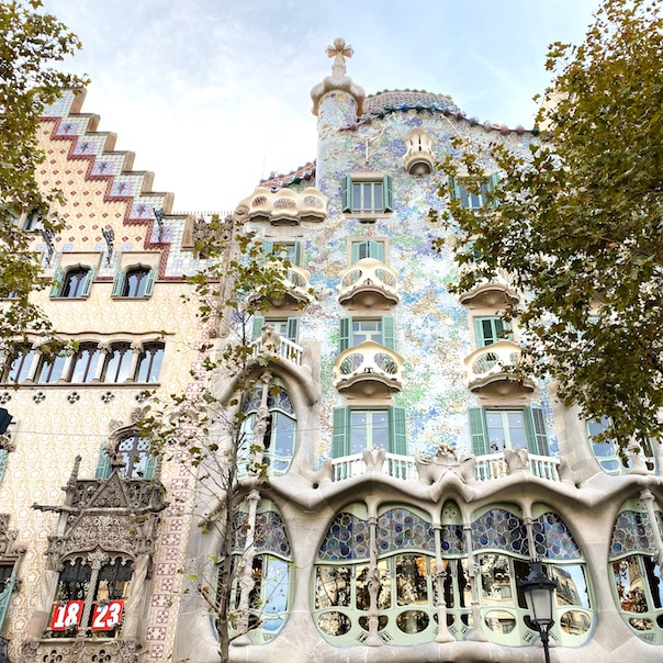 Lovely Barcelona architecture
