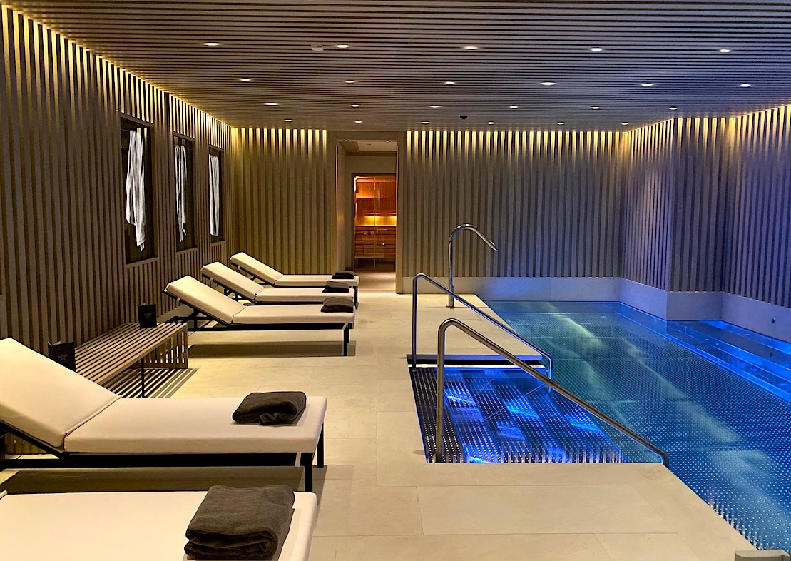 Indoor pool at Seventy Barcelona