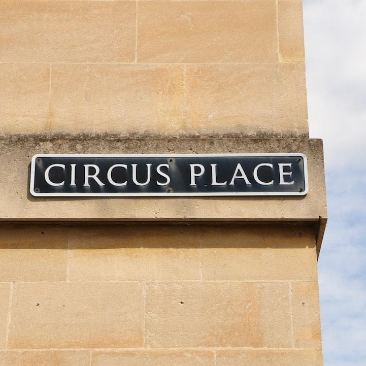 Circus Place, Bath