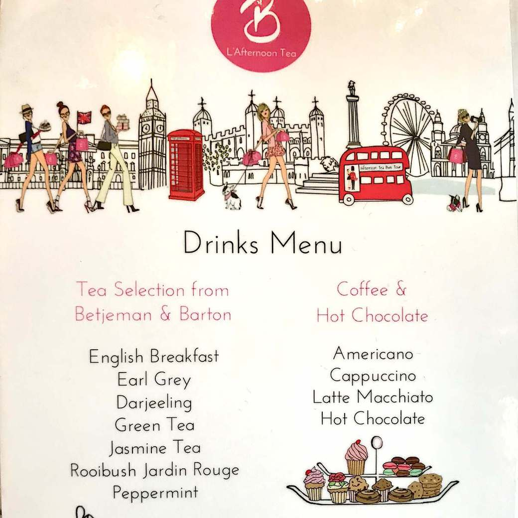 Teas to choose from
