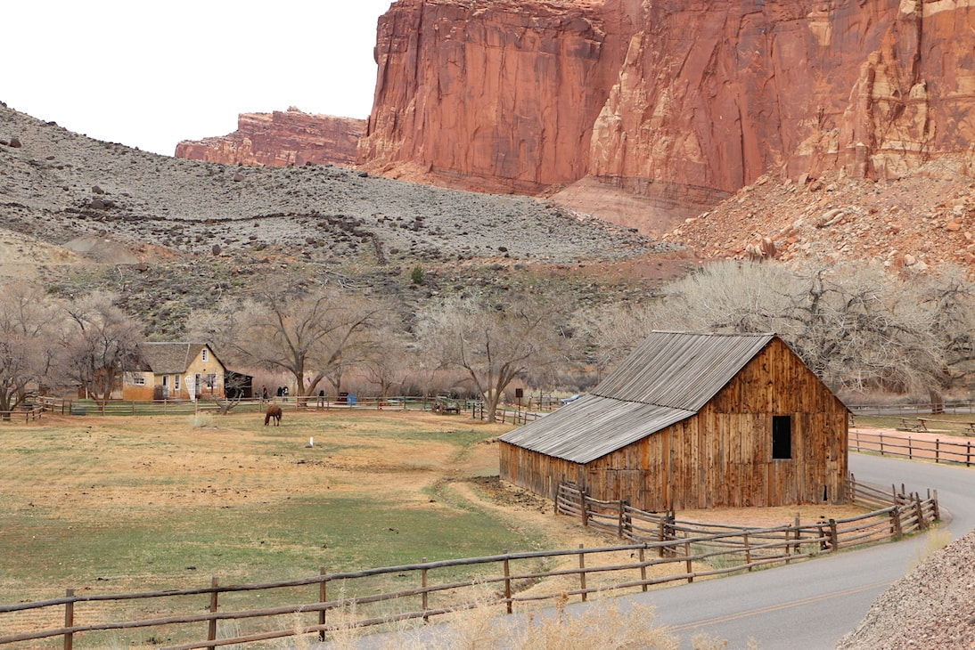 Historic Center of Capitol Reef NP