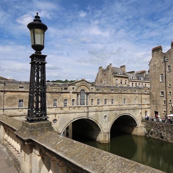 Bath's most famous bridge