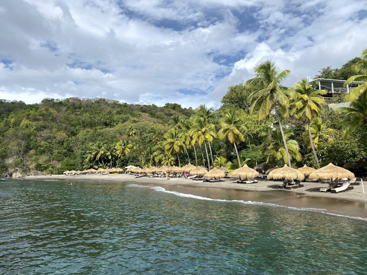 Great snorkeling near Anse Chastanet