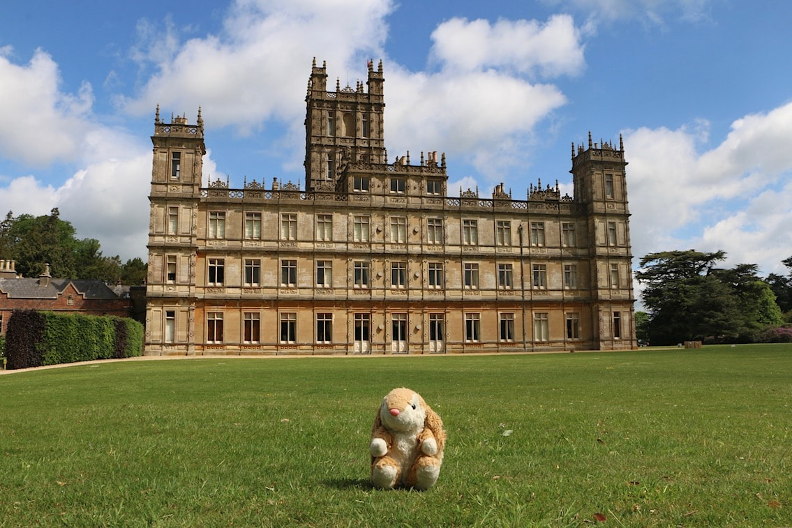 Bunny at Highclere Castle