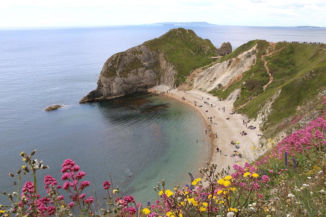 Coastal scenery in England