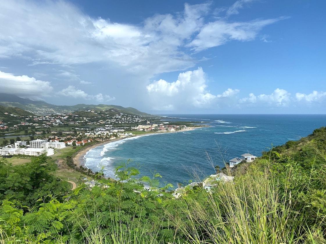 Beautiful vista in St. Kitts