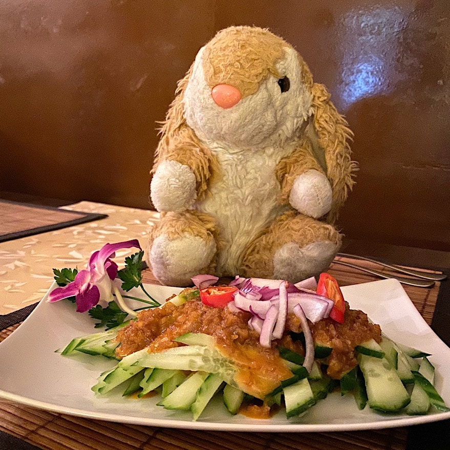Bunny's favourite dish at Bangkok