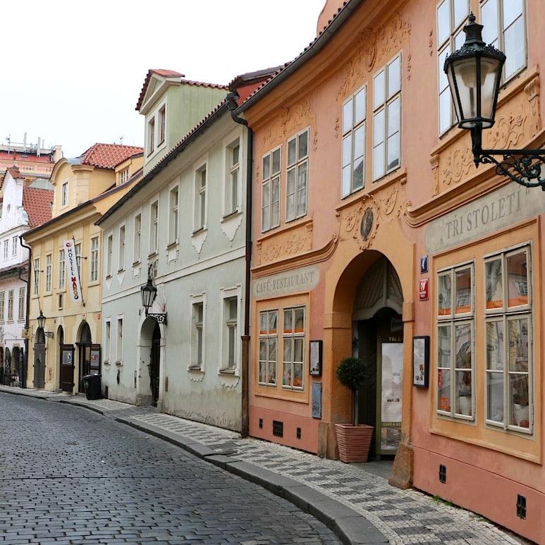 Beautiful old street