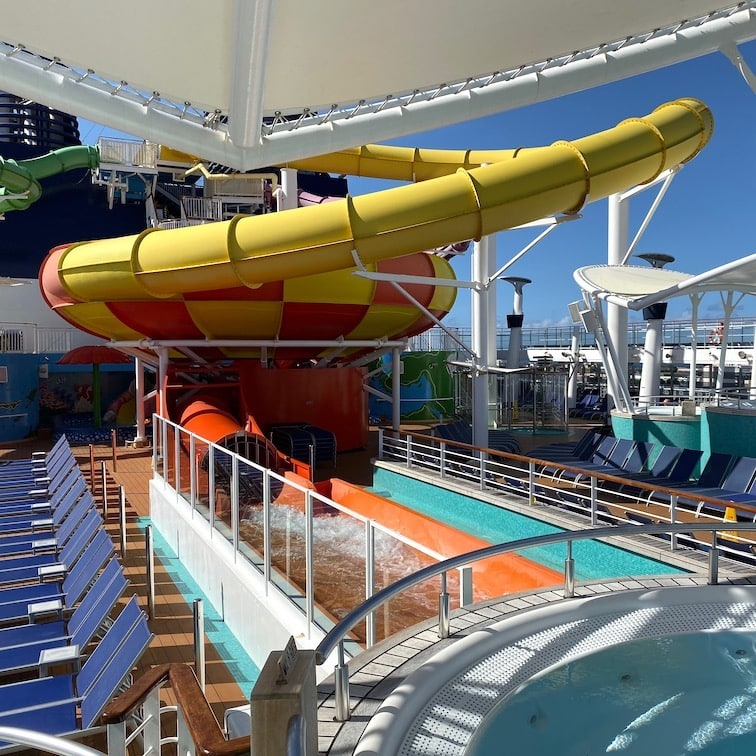 Waterslides on Epic