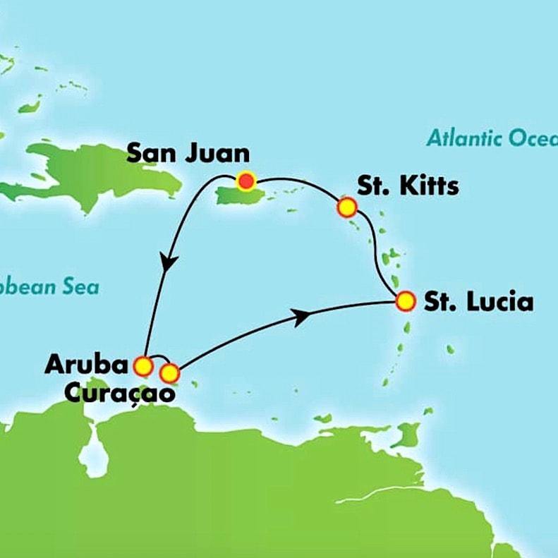 Image courtesy of Norwegian Cruiseline