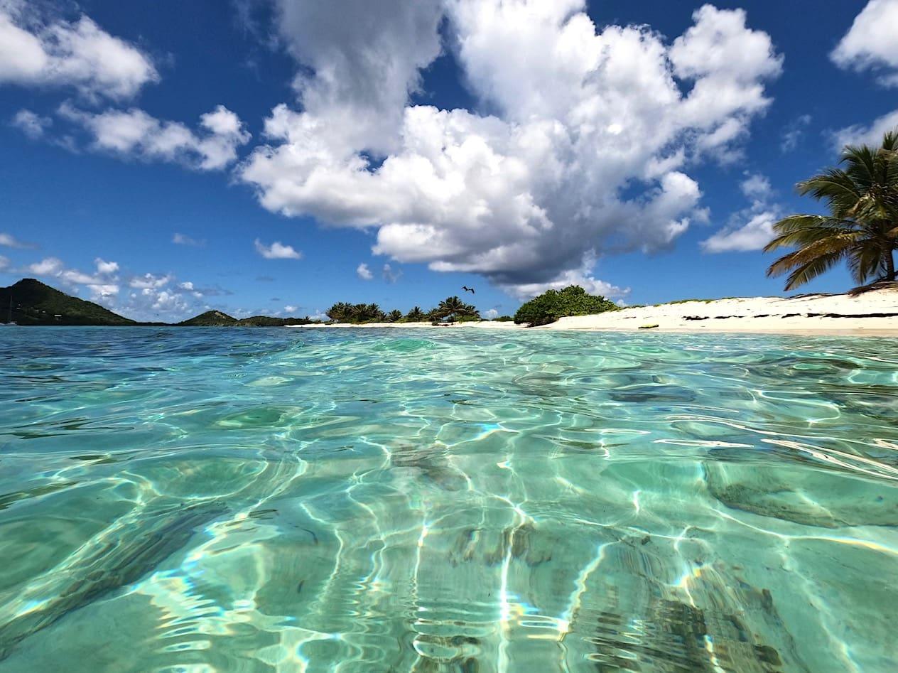Snorkeling at Sandy Island